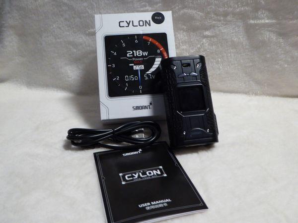 Smoant Cylon 218W TC Box Mod for E Cigarette - BLACK gebraucht kaufen  63579 Freigericht