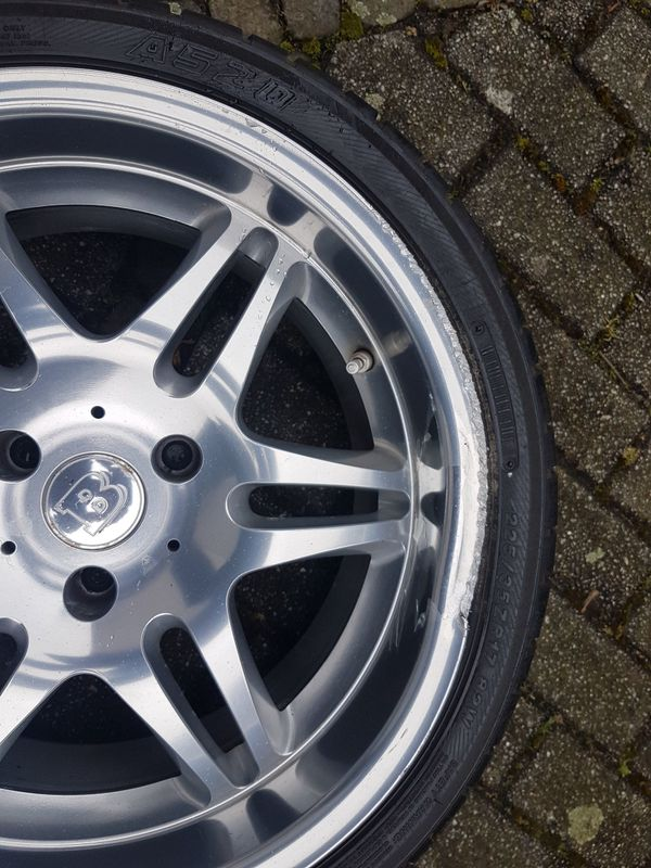 Brabus Monoblock VI 17\' Smart Roadster 452 hinten in Laudenbach ...