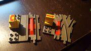 Lego Duplo Eisenbahnweichen (