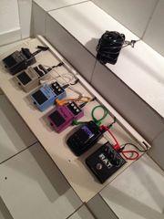 Effektgerätebrett Fußtreter für Gitarre Bass