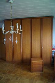 Schlafzimmerschrank, Spiegelschrank, Frisierkommode,