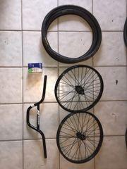 Diverse Fahrradteile, Lenker,