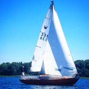 Segelboot Königskreuzer Chiemsee Prien