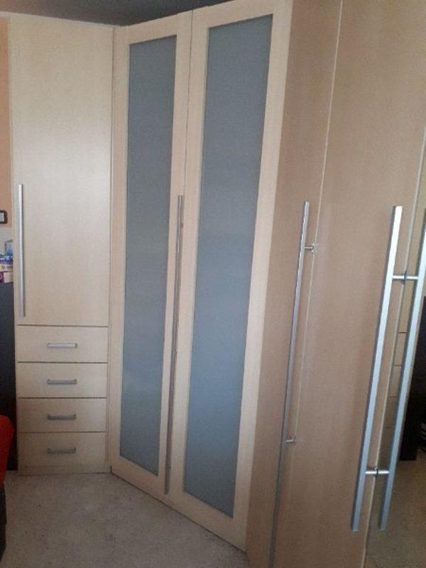 schlafzimmer eckschrank gebraucht kaufen nur 2 st bis 65 g nstiger. Black Bedroom Furniture Sets. Home Design Ideas