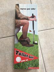 Toilet Golf Set neu unbenutzt