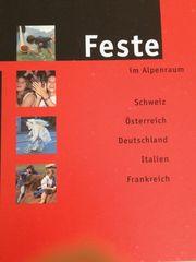 Buch Feste im Alpenraum
