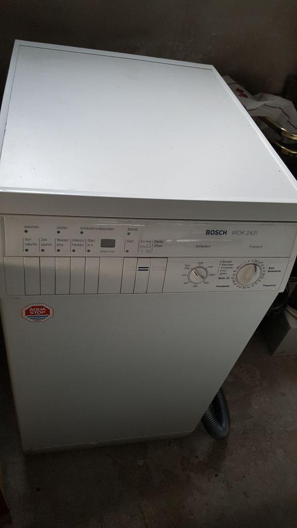 bosch waschmaschine toplader gebraucht kaufen nur 4 st bis 70 g nstiger. Black Bedroom Furniture Sets. Home Design Ideas