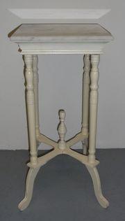 Beistelltisch mit Marmorplatte Blumentisch Telefontisch