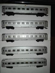 Rarität Piko INOX Stahlwagen Schnellzugwagen