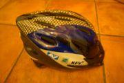 Fahrradhelm blau