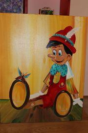 Ölgemälde Pinoccio