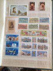 DDR-Briefmarken ungestempelt