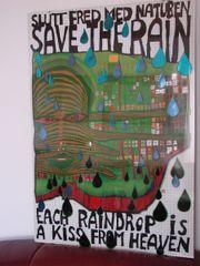 Hundertwasser Originalposter inkl.