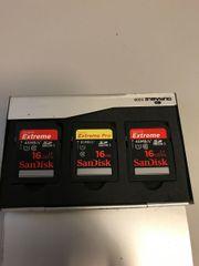 SanDisk 16 GB Speicherkarten SD-Karten