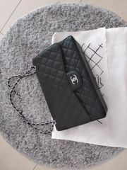 Chanel Double Flap Maxi Tasche