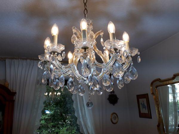 Kronleuchter Kristall Klein ~ Italienischer kristall kronleuchter armig mit