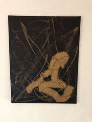 Bild Acryl auf Leinen 70cm