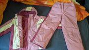 Ski-Anzug 2tlg pink weiß Gr