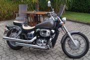 schönes gepflegtes Motorrad