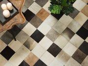 Teppich braun-beige-grau 80 x 150