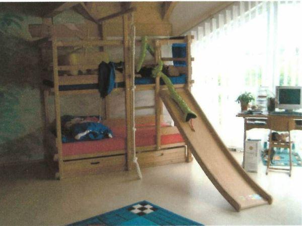 Etagenbett Piratenbett : Sehr stabiles hochbett abenteuerbett piratenbett von firma