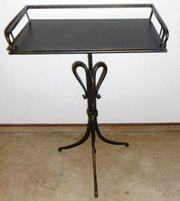 Schmiedeeiserner Metall Nachttisch, Nachtkonsole, Tisch, Beistelltisch im Antik Stil Neuwertig! gebraucht kaufen  Limburg Linter