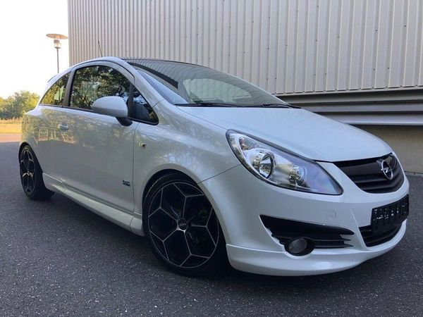 opel corsa d 1.4 16v opc line/2.hand/euro5/top zustand in leipzig