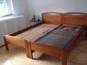 Kombinationsbett Kirschbaum 180x200