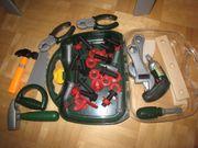 Bosch Werkbank und Werkzeugkoffer Spielzeug