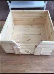 Neuwertige Wurfbox für