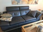 Sofa, Ledergarnitur - 2-