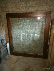 Fenster mit Rahmen Holz 118