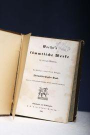 Goethe s sämmtliche Werke