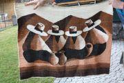 Wandteppich aus Peru