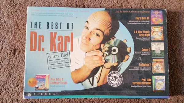 The Best of Dr Karl Spielesammlung