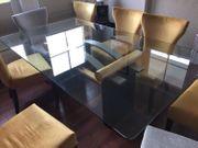 GLAS-Besprechungs- Konferenztisch oder auch Esstisch