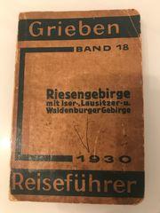 Grieben Reiseführer - Riesengebirge 1930