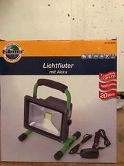 Filmer Lichtfluter mit Akku LED