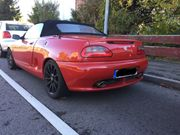 Schönes MG Cabrio MGF 1