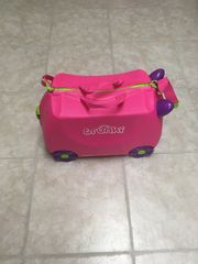 Trunky Kinderkoffer pink