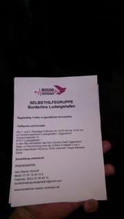 Borderline Selbsthilfegruppe gegründet