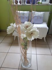 Vase Glaszylinder mit