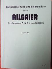 Betriebsanleitung Allgaier A 122 Systam
