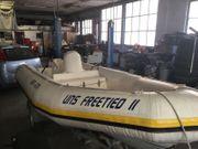 Schlauchboot mit Jetantrieb 50 PS