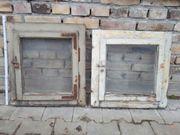 Holzfenster, historisch, shabby