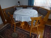 Eckbank Sitzgruppe mit 2 Stühlen