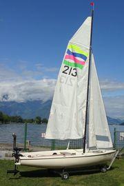 Segelboot Jolle Bavaria