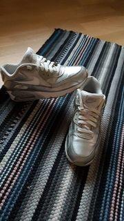 Nike Airmax silber wie neu