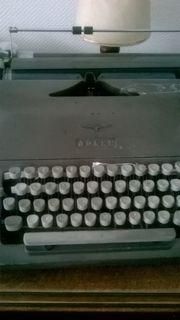 Adler Schreibmaschine manuell ca 1959