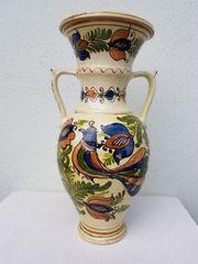 Vase groß bunt